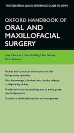 Oxford Handbook of Oral and Maxillofacial Surgery (Oxford Medical Handbooks)