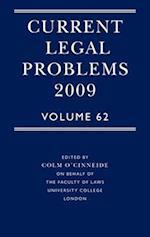 Current Legal Problems, Volume 62 (Current Legal Problems, nr. 62)