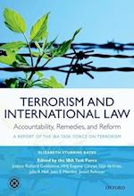 Terrorism and International Law: Accountability, Remedies, and Reform af Elizabeth Stubbins Bates, Julia A Hall, Richard Goldstone