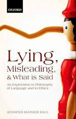 Lying, Misleading, and What is Said