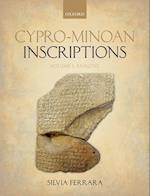 Cypro-Minoan Inscriptions