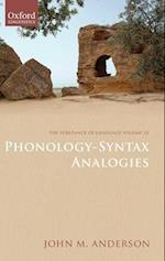 Phonology-Syntax Analogies