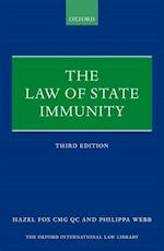 The Law of State Immunity (The Oxford International Law Library)