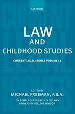 Law and Childhood Studies (Current Legal Issues, nr. 14)