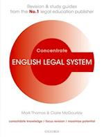 English Legal System Concentrate (Concentrate)