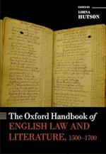 The Oxford Handbook of English Law and Literature, 1500-1700 (Oxford Handbooks)