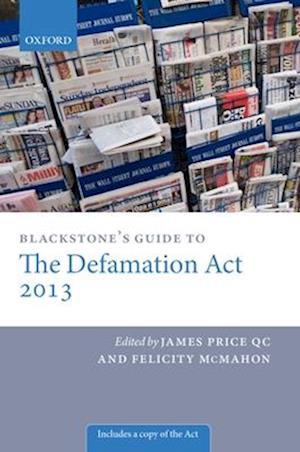 Bog paperback Blackstone's Guide to the Defamation Act af James Price