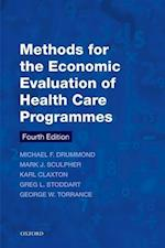 Methods for the Economic Evaluation of Health Care Programmes af Michael F. Drummond