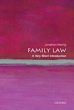 Family Law: A Very Short Introduction (VERY SHORT INTRODUCTIONS)