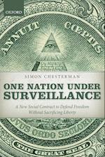 One Nation Under Surveillance af Simon Chesterman