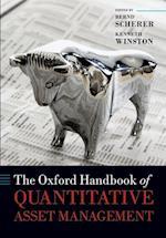 The Oxford Handbook of Quantitative Asset Management af Bernd Scherer