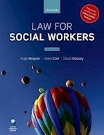 Law for Social Workers af Helen Carr, David Goosey, Hugh Brayne Ba