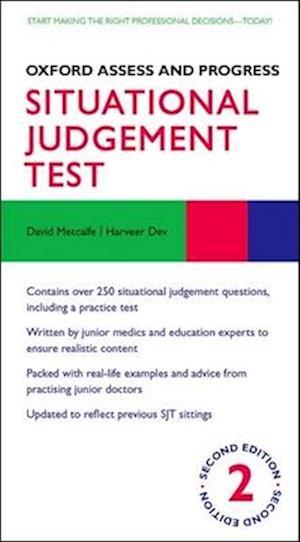 Bog, paperback Oxford Assess and Progress: Situational Judgement Test af David Metcalfe