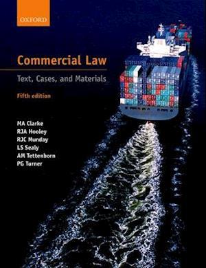 Bog, paperback Commercial Law af R. J. a. Hooley