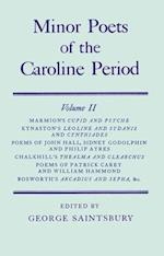 Minor Poets of the Caroline Period af Shakerley Marmion