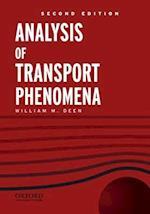 Analysis of Transport Phenomena af William M. Deen