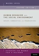 Human Behavior and the Social Environment, Macro Level
