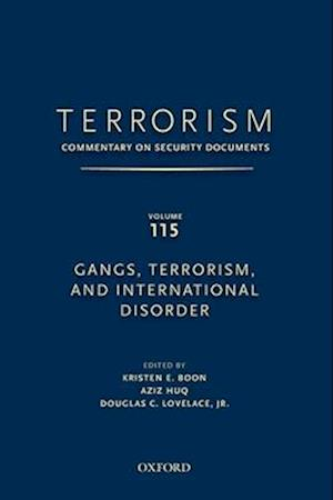 TERRORISM: COMMENTARY ON SECURITY DOCUMENTS VOLUME 115