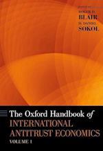 The Oxford Handbook of International Antitrust Economics (Oxford Handbooks)