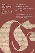Piano Sonata in E Minor, Op. 109 af Heinrich Schenker