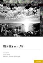 Memory and Law (Oxford Series in Neuroscience, Law and Philosophy)