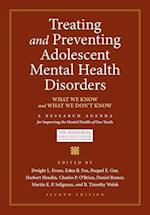Treating and Preventing Adolescent Mental Health Disorders (Adolescent Mental Health Initiative)