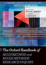 The Oxford Handbook of Multimethod and Mixed Methods Research Inquiry (Oxford Library of Psychology)