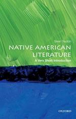 Native American Literature (VERY SHORT INTRODUCTIONS)