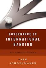 Governance of International Banking af Dirk Schoenmaker