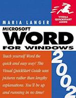 Word 2002 for Windows (Visual QuickStart Guides)