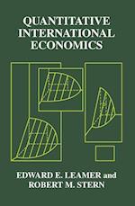Quantitative International Economics af Robert M. Stern, Edward E. Leamer