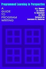 Programmed Learning in Perspective: A Guide to Program Writing af C. A. Thomas, D. Openshaw, I. K. Davies
