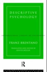 Descriptive Psychology af Franz Brentano