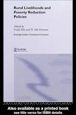 Rural Livelihoods and Poverty Reduction Policies (Routledge Studies in Development Economics)