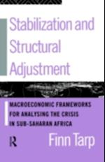 Stabilization and Structural Adjustment af Finn Tarp