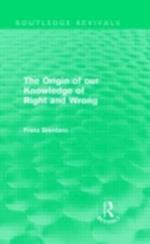 Origin of Our Knowledge of Right and Wrong (Routledge Revivals) af Franz Brentano