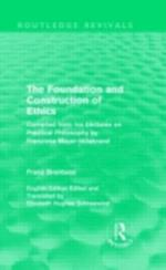 Foundation and Construction of Ethics (Routledge Revivals) af Franz Brentano