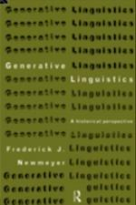 Generative Linguistics (History of Linguistic Thought)