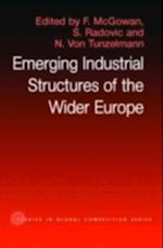 Emerging Industrial Structure of the Wider Europe (Routledge Studies in Global Competition)