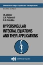 Hypersingular Integral Equations and Their Applications