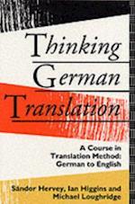 Thinking German Translation af Sandor Hervey