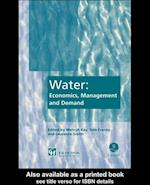 Water: Economics, Management and Demand
