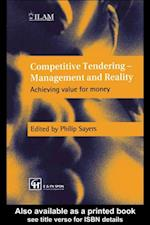 Competitive Tendering - Management and Reality