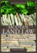 Modern Land Law 7/e