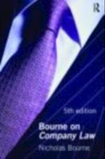 Bourne on Company Law 5/e