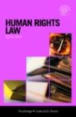 Human Rights Lawcards 2010-2011 (Lawcards)