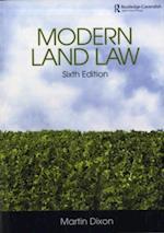 Modern Land Law 6/e