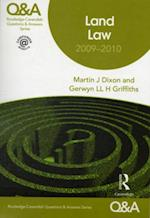 Q&A Land Law 2009-2010 (Questions and Answers)