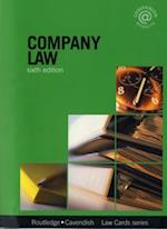 Company Lawcards 6/e (Lawcards)