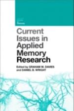 Current Issues in Applied Memory Research (Current Issues in Memory)